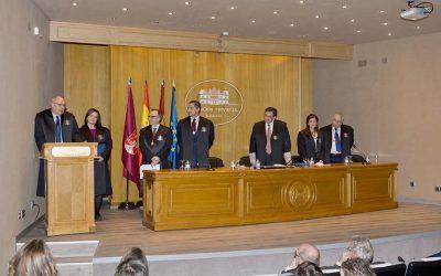 Homenaje del Colegio de Abogados de Albacete, 25 años de colegiación.