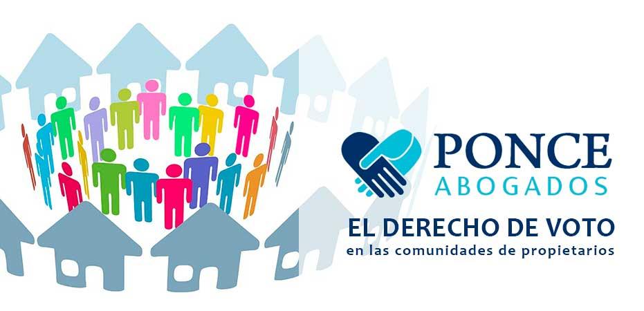El derecho de voto en las Comunidades de Propietarios. Abogados en Albacete