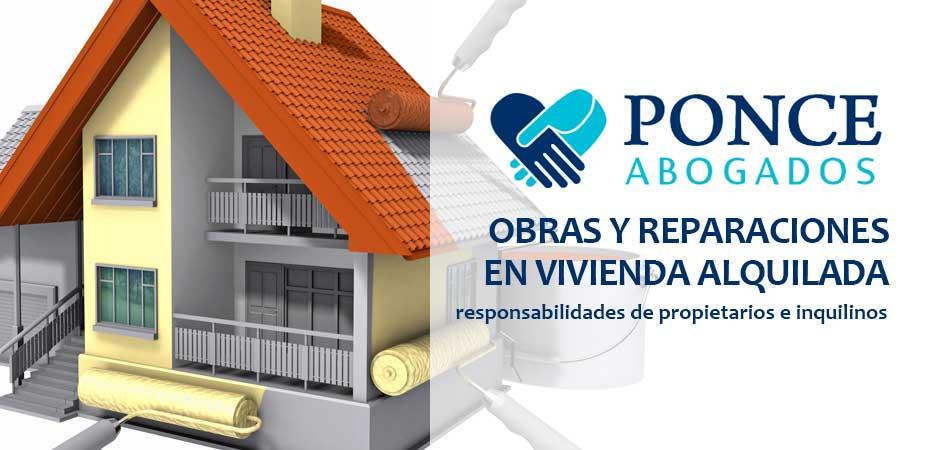 Las Obras y Reparaciones en la Vivienda Alquilada